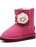 Girls' Shoes Casual Snow Boots / Comfort / Round Toe / Closed Toe Suede Boots