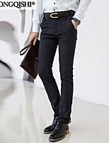 AOLONGQISHI® Men's Suits , Casual Pure Cotton / Linen LYL911