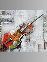 Musica Print Canvas Un pannello Pronto da appendere , Orizzontale