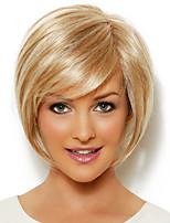 elegante pequeña recta virgen atado a mano pelo remy superior peluca sin tapa hembra humana