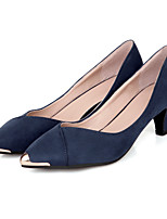 Women's Shoes Leatherette Stiletto Heel Heels Heels Outdoor / Casual Black / Blue / Red