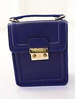 Women PU Sling Bag Shoulder Bag - Pink / Blue / Black