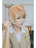LanTing Cos DIABOLIK LOVERS Sakamaki Syuu Orange Mix Short Cosplay  Party Anime Wig Hair