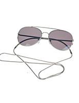 Women 's 100% UV400 Browline Punk Sunglasses
