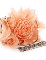 L.WEST®  Women's  Event/Party / Wedding / Evening Bag Satin Roses Delicate Handbag