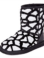 Women's Shoes Suede / Fur Flat Heel Snow Boots Boots Outdoor / Casual