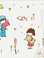Fashion / People Wall Stickers Plane Wall Stickers , PVC 50cm*70cm