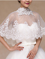Wedding / Party/Evening / Office & Career / Casual Lace Capelets / Boleros Sleeveless Wedding  Wraps