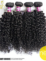 4 Pcs Lot Indian Kinky Curly Virgin Hair Unprocessed 100% Human Hair Weaves Cheap Indian Deep Curly Wave Hair Extensions