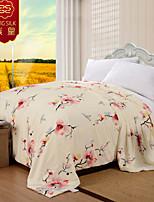 100% edredón de algodón de la boda de invierno textil hogar rosa del edredón de seda jacquard boda cálida manta de seda juegos de cama