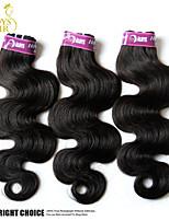 3 Bundles Lot Mongolian Virgin Hair Body Wave Wavy 100% Human Hair Weave Cheap Mongolian Hair Extensions Natural Black