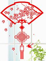 Fashion / Vacanze Adesivi murali Adesivi aereo da parete , PVC 74cm*57cm