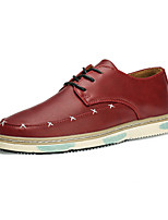 Men's Shoes Outdoor / Office & Career / Casual Oxfords Black / Brown / Red