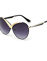 Women 's Mirrored 100% UV400 Oversized Sunglasses