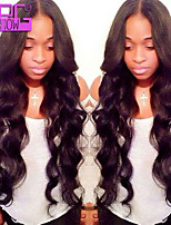 Brazilian Body Wave Human Hair Lace Front Wigs 26Inch 130% Human Hair Lace Wigs  Black Women