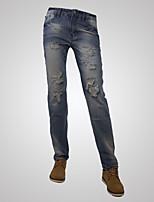 Men's Pure Sleeveless Pant , Denim Casual / Plus Sizes