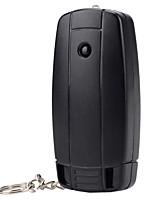 N760 usb ambiental impulsado más ligera w / linterna - negro