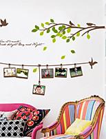 Botanical / Fashion Wall Stickers Plane Wall Stickers , PVC 60cm*90cm