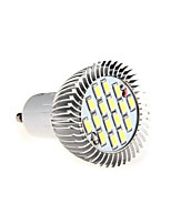 HRY® 8W GU10 16XSMD5630 650LM Warm/Cool White Color Light LED Bulb Spotlight(220V)