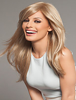 Woman Lady  Daily  Long Side Bang High Quality Synthetic Straight Wigs