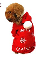 FUN OF PETS® Festival Chrismas Costum Coat with Hoodies for Pets Dogs (Assorted Sizes)
