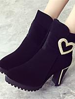 Scarpe Donna - Stivali - Casual - A punta - Quadrato - Finta pelle - Nero