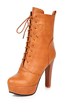 Women's Shoes Stiletto  Heel Round  Toe Mid-Calf Boots More Colors available