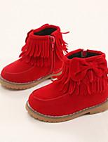 Baby Shoes - Tempo libero / Formale / Casual - Stivali - Finta pelle - Nero / Marrone / Rosso