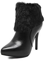 Chaussures Femme - Habillé / Soirée & Evénement - Noir - Talon Aiguille - Talons / Confort / Bout Pointu / Bottes à la Mode - Bottes -