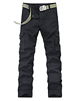 2015 men's trousers pocket Han edition outdoor sports fashion men's trousers