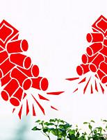 Fashion / Holiday Wall Stickers Plane Wall Stickers , PVC 33cm*70cm
