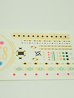 5pcs/lot body art temporary tattoo sex products flash tattoo metallic gold tattoos WST-16