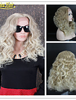 Medium Density Blonde Long Human Hair Lace Front Wigs/Full Lace Wig Body Wave Brazilian Hair Wigs For White Women