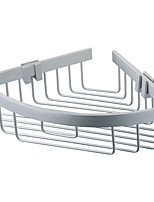 ENZORODI Bathroom Shelves Basket,Chrome Finish Stainless Steel,Bathroom Accessories ERD7583CP