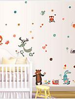 Animals / Cartoon / Fantasy Wall Stickers Plane Wall Stickers , PVC 50cm*70cm