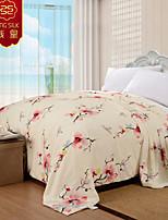 cuatro estaciones 100% edredón boda del algodón rosa textiles para el hogar sistemas del lecho de seda jacquard boda edredón manta de seda