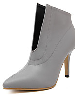 Women's Shoes Stiletto Heel Heels Boots Outdoor Black / Gray
