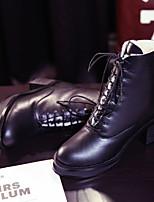 Zapatos de mujer - Tacón Robusto - Punta Cerrada / Botas de Equitación - Botas -Exterior / Oficina y Trabajo / Vestido / Casual / Fiesta