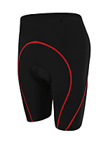 GETMOVING Terylene Breathable Compression Coolfmax Seamless/Red Black Cycling Suits/Cycling Shorts