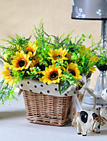 Sunflower Plastic Fruit Artificial Flowers