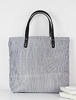 Women Canvas Weekend Bag Tote - Gray
