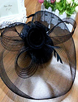Lady Top Hat Lace Veil Fascinators for Party Hair Jewelry