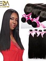 3pcs/Lot Unprocessed Virgin Peruvian Hair Silk Straight Human Hair Extensions Natural Black 8''-30'' Hair Weaves