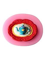 Teapot Shape Fondant Mold Cake Decoration Mold