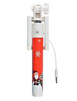 selfie bâton pour cadeau de Noël extensible selfie-clé mini-ordinateur de poche Smartphone monopode