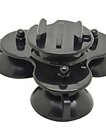Ourspop GP291 Removable Tri-Angle Suction Cup Mount with Screw for GoPro Hero 4/3+/3/2/1