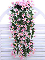 Fashion Simulation Flower Rattan Little Lily Polyester / Plastic Artificial Flowers