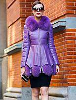 Women Fox Fur / Goatskin Top , Lined