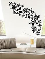 Botanical / Fashion Wall Stickers Plane Wall Stickers , PVC 63.5cm*61cm