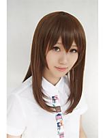 cos Lanting Kagerou projeto Tateyama ayano marrom longo cosplay partido peruca de cabelo anime